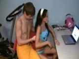 Teenie tiny little teen amateur gets her hole abused 5